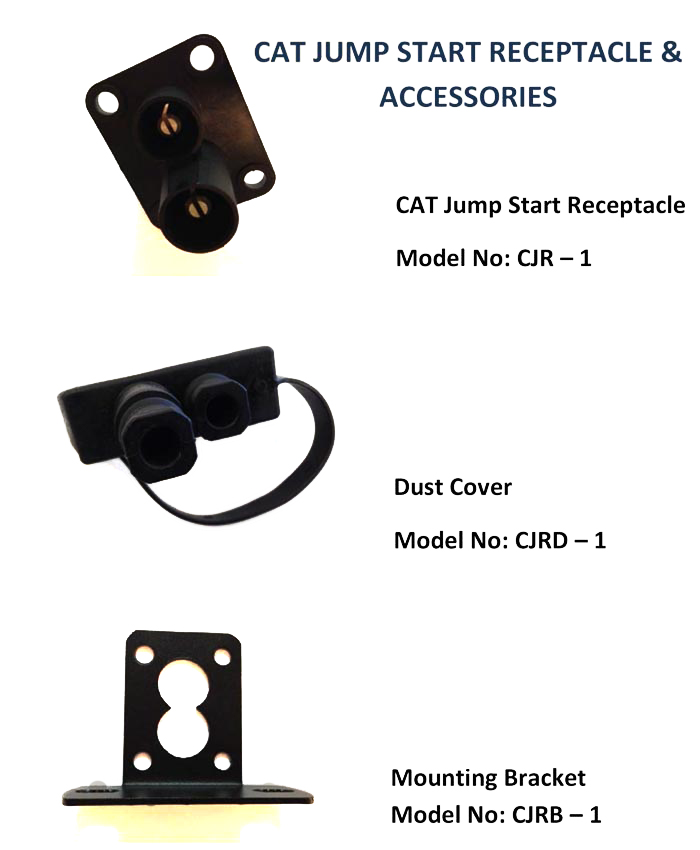 Car Battery Voltage >> Cat Jump Start Receptacle & Accessories [CJR Series]