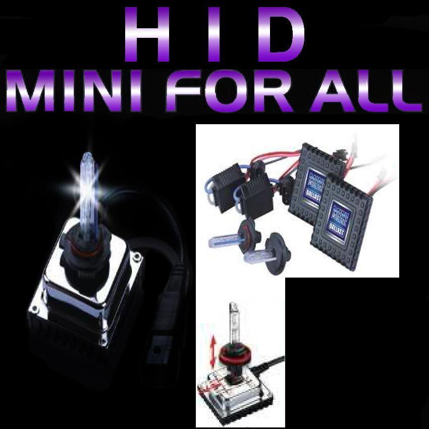 HID Mini Ballast Driving Light Kits 35W 6000k