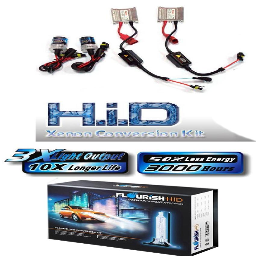 HID Slim Ballast Driving Lights Kits 35W 6000K